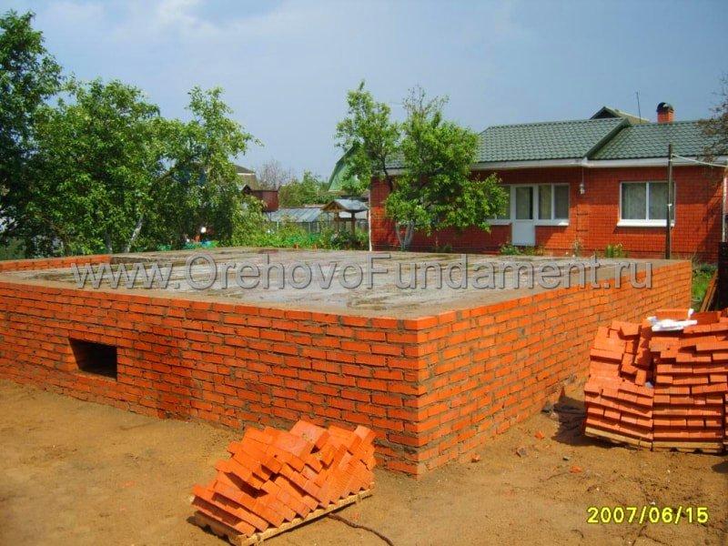 Как построить кирпичный дом от фундамента до крыши